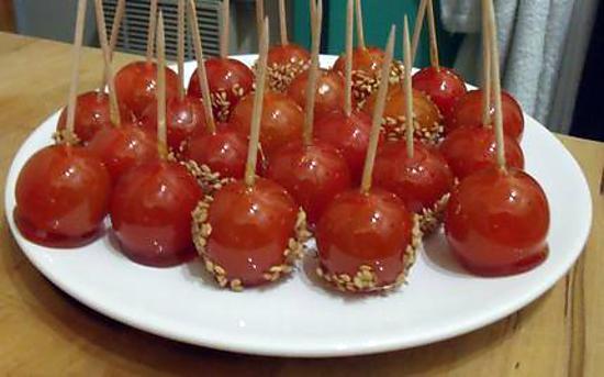 recette Tomates cerises pommes d'amour