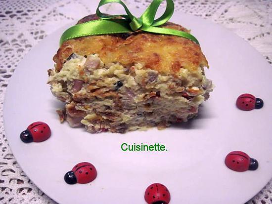 Recette de flan au poulet l for Cuisson legumes au micro ondes