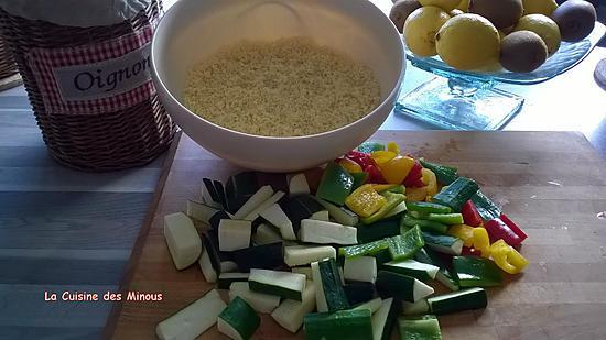 recette Couscous Marocain aux Sept Légumes