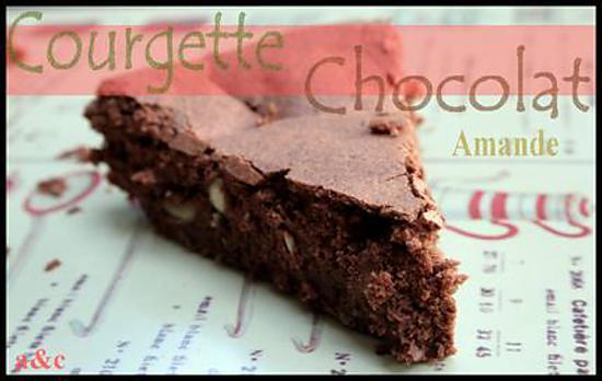 recette de ** des courgettes et des amandes pour un gâteau au