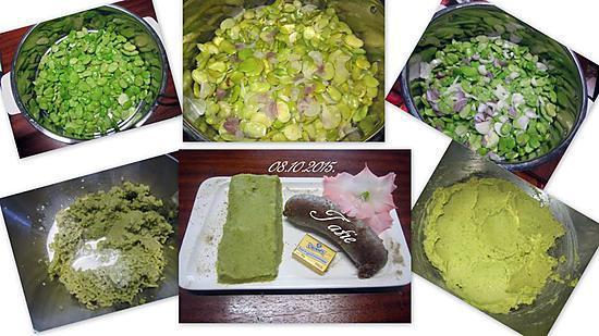 recette Purée de fèves.