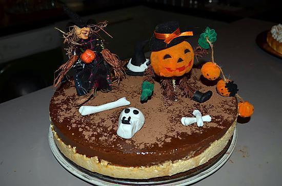 Recette de le potichoc dessert d 39 halloween - Recette dessert halloween ...