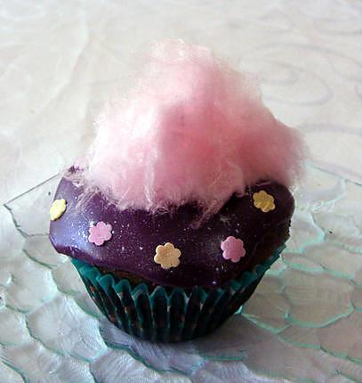 recette Cupcakes au chocolat très colorés (pour anniversaire d'enfants)