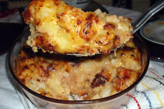 recette de gratin de pommes de terre au jambon de dinde. Black Bedroom Furniture Sets. Home Design Ideas
