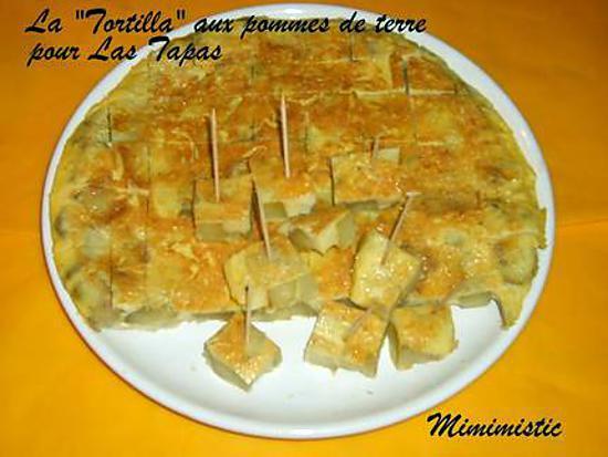 recette de la tortilla aux pommes de terre omelette espagnole pour las tapas chapitre 3. Black Bedroom Furniture Sets. Home Design Ideas