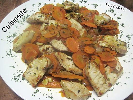 recette de carottes vichy a la viande de dinde par cuisinette. Black Bedroom Furniture Sets. Home Design Ideas