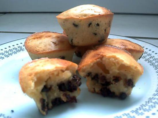 recette muffins choco-cramberry