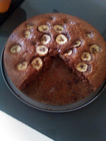 Recette gateau banane noisette