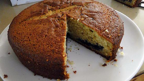 recette Gâteau au yaourt et aux myrtilles
