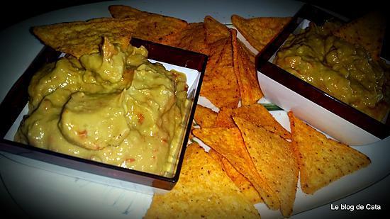 recette Guacamole mexicain maison