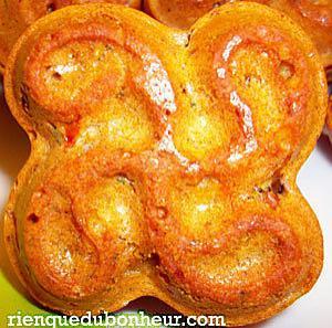 recette Muffins légers aux tomates cerise et aux olives vertes