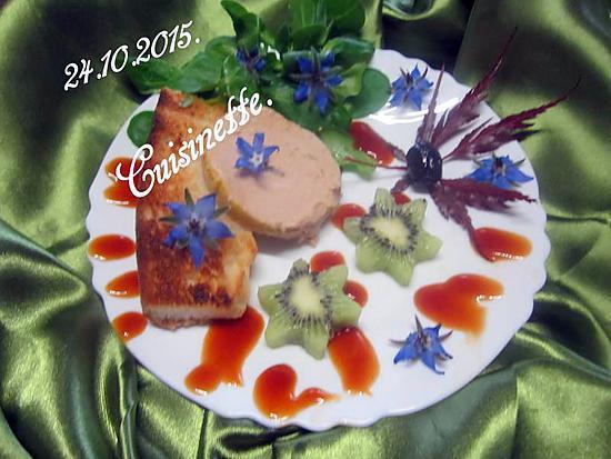 Id es pr sentation assiette de foie gras - Decoration assiette de foie gras photo ...