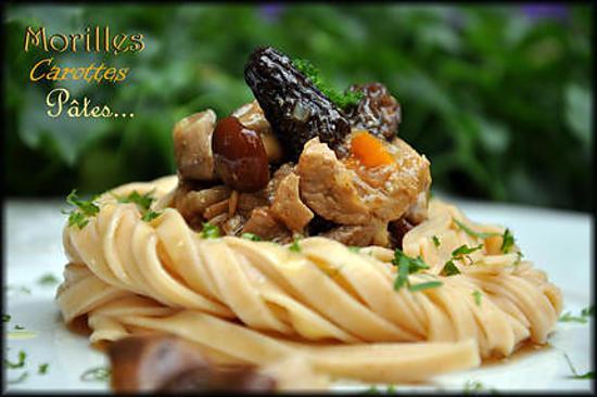 Sauté de veau aux champignons des bois