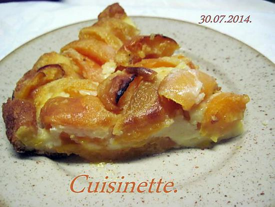 recette Clafoutis aux abricots frais.