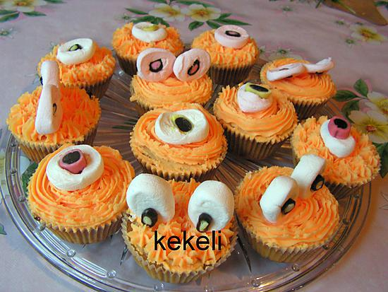 recette de cupcake potiron pour halloween. Black Bedroom Furniture Sets. Home Design Ideas