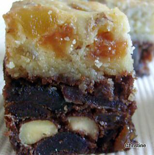 recette gâteau pour grands amateurs de fruits secs