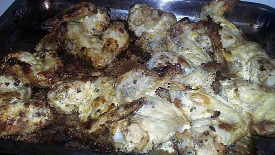 recette Ailes poulet rôtis a la mayonnaise