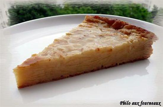 recette Gâteau invisible aux pommes & aux poires