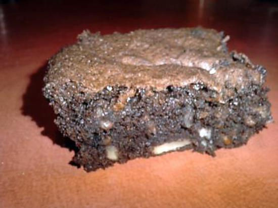 recette BROWNIES EXTRA MOELLEUX RAPIDE