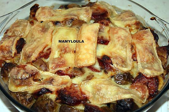 Recette de gratin choux de bruxelles aux maroilles et sauccisses de montb liard - Gratin de choux de bruxelles ...
