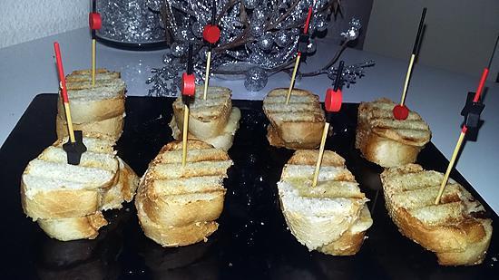 recette Minis croques monsieurs aperitif