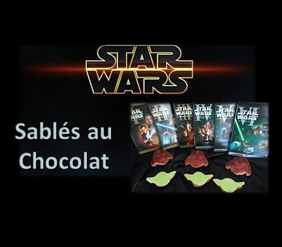 recette STAR WARS - Sablés au chocolat