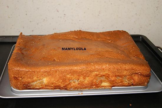 recette Gâteau fondant aux pommes et mascarpone