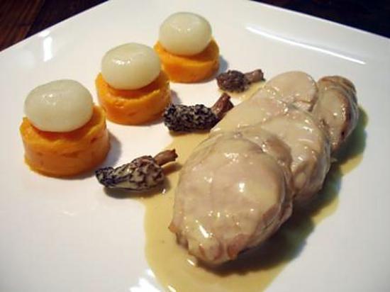 Recette de ris de veau brais s aux morilles et porto - Recette de cuisine blanquette de veau ...