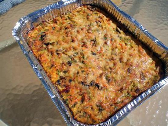recette Flan de legumes au parmesan