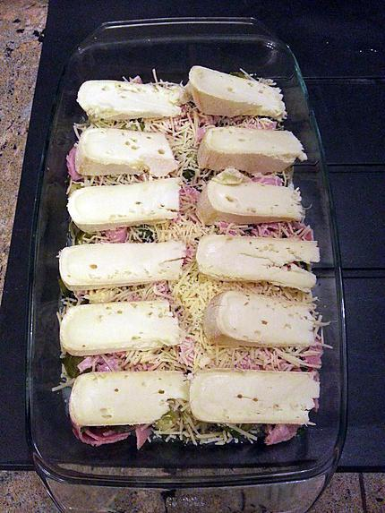 Recette de gratin de choux de bruxelles au reblochon - Choux de bruxelles recette gratin ...