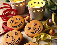 recette Petits biscuits d'halloweeen
