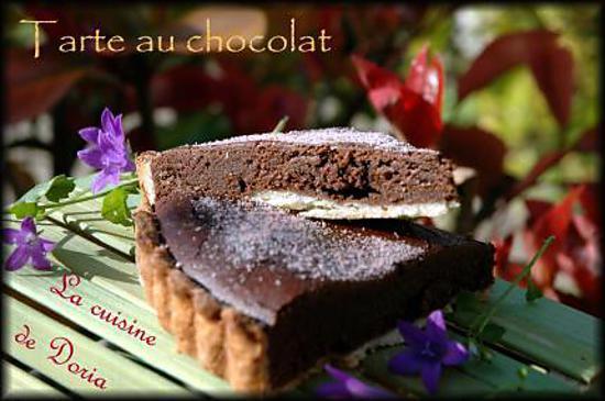 recette Tartes au chocolat