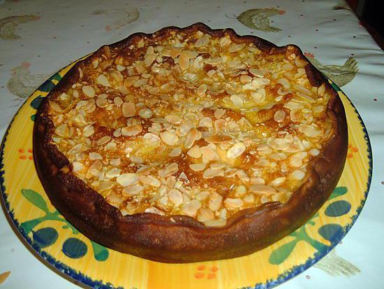 recette Gâteau en 2 fois aux pommes