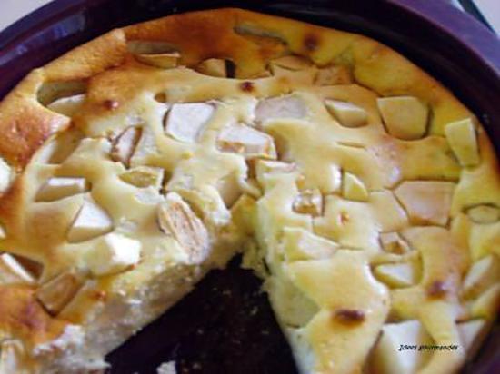 Recette gateau fromage pomme