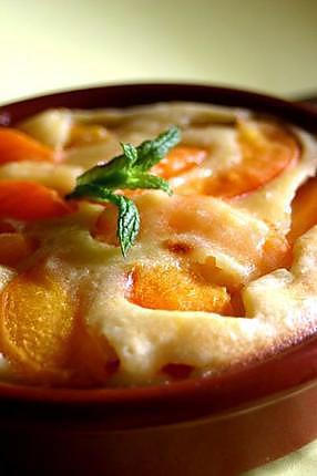 recette Sabayon aux abricots