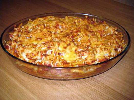 recette de macaroni aux boulettes sauce tomate gratin reste de la veille. Black Bedroom Furniture Sets. Home Design Ideas