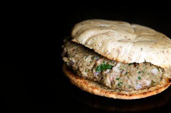 recette Le burger du terroir