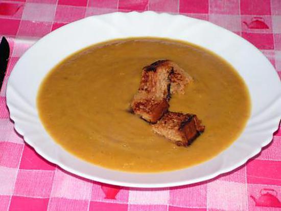 Recette de velout cr meux potiron ch taigne - Cuire des marrons en conserve ...