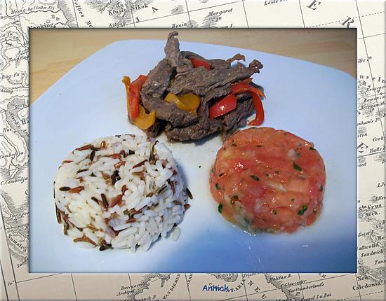 Recette de Brochettes steak haché par choupette