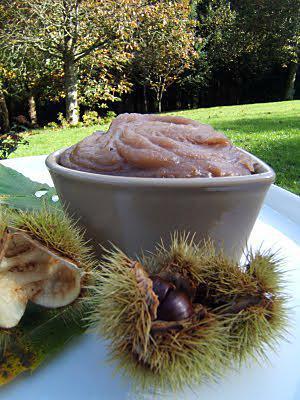 recette Crème de châtaignes à la fève Tonka