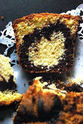 recette Cake chocolat noisettes