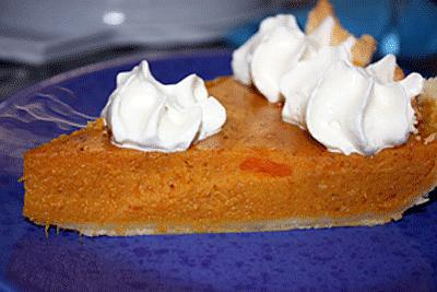 recette Pumpkin pie, tarte américaine au potiron
