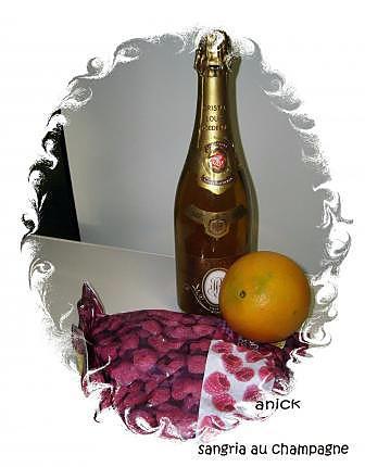 recette sangria au champagne