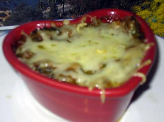 Recette de gratin de courgettes au boursin par juarez baysse josette - Courgette boursin cuisine ...