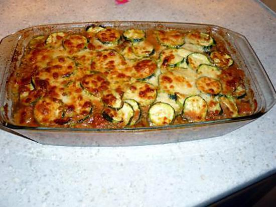 recette de gratin de courgettes fa on bolognaises. Black Bedroom Furniture Sets. Home Design Ideas