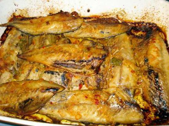 Recette de filets de maquereau au curry - Maquereau grille au four ...