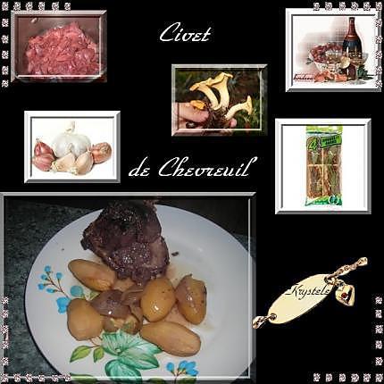 recette civet de chevreuil