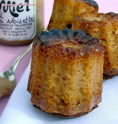 recette Cannelés au miel de noisette