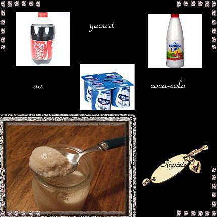 recette yaourt au coca-cola