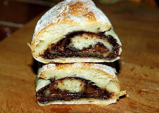 Recette de petits pains au lait et nutella - Pain au lait recette ...